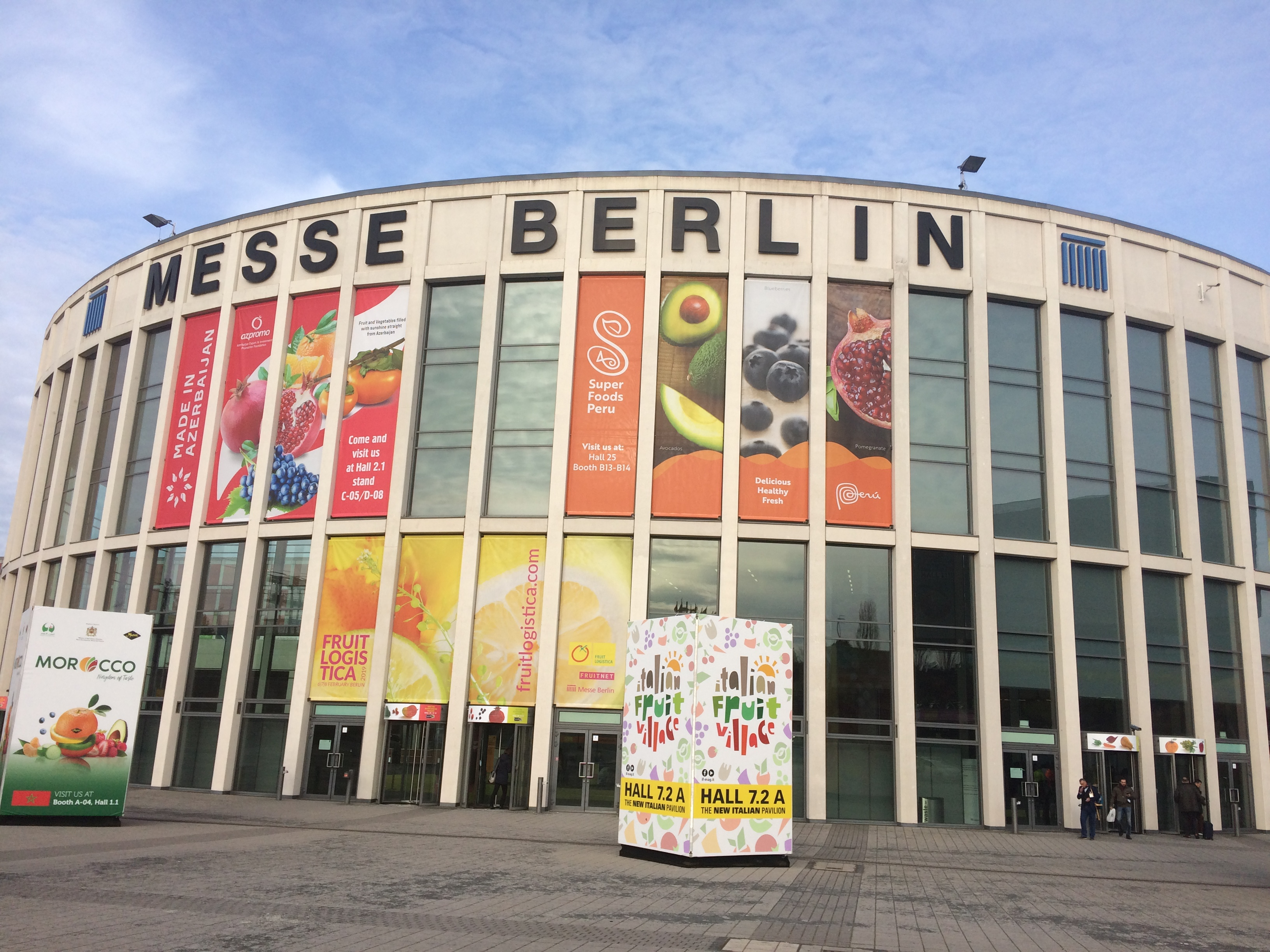 Tecnobox presente en la Feria Fruit Logistica 2019 en Berlín
