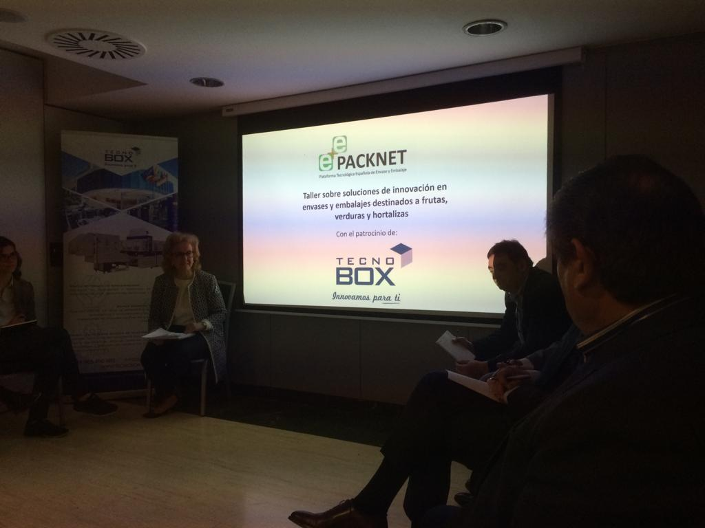 Tecnobox, presente en el Taller de Soluciones de innovación en E+E para frutas, verduras y hortalizas