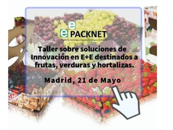 Tecnobox, patrocina el Taller sobre Soluciones de Innovación en Envases y Embalajes destinados a Frutas, Verduras y Hortalizas