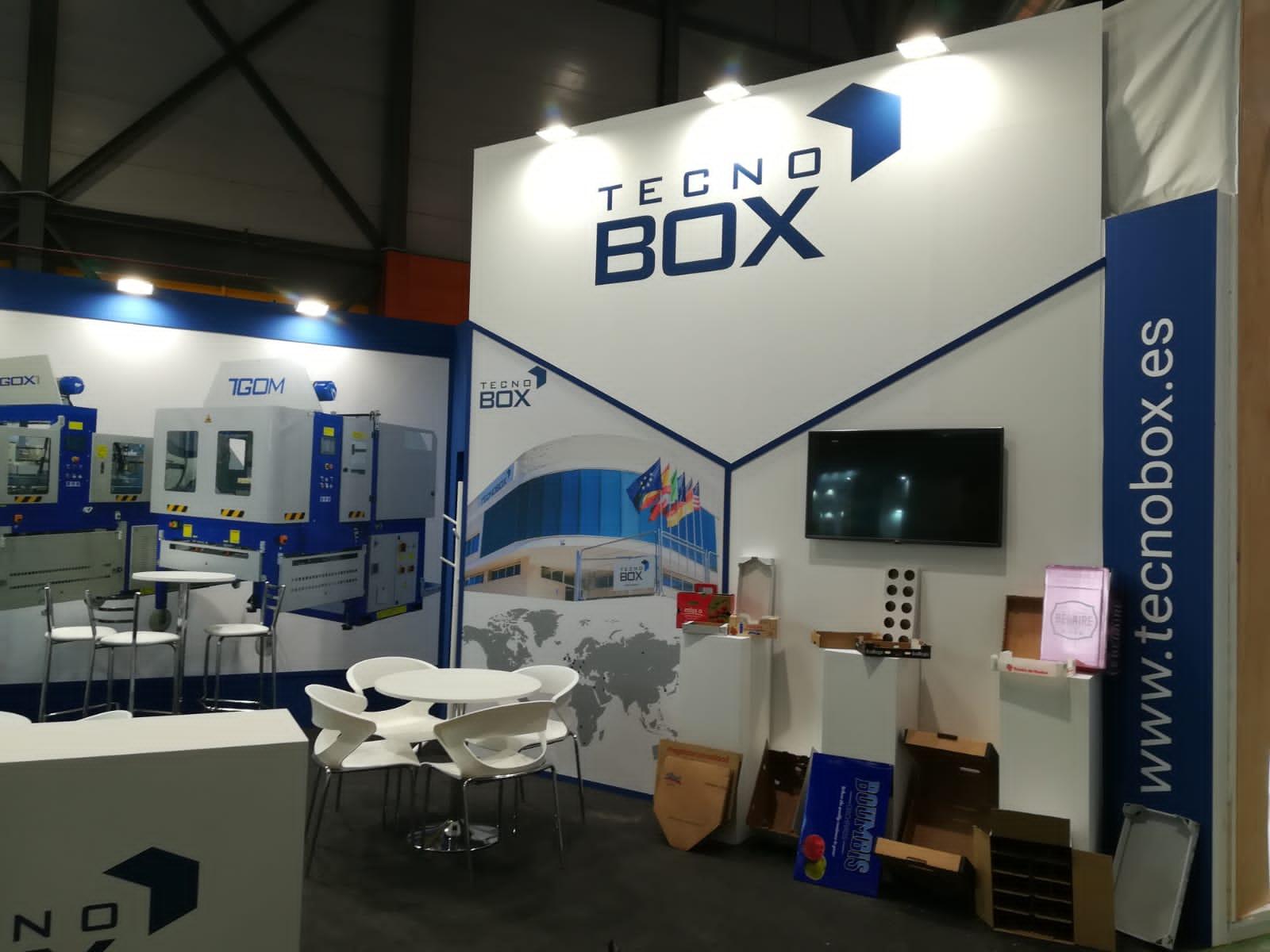 Tecnobox expone en la Feria Fruit Attraction 2019