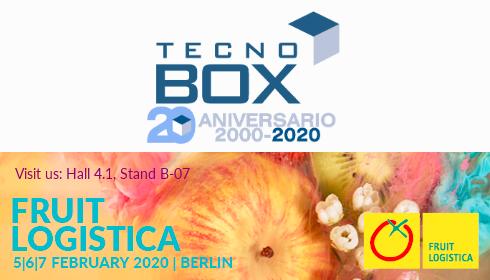 ¡TECNOBOX en Fruit Logistica 2020!